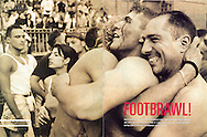 Tearsheet from features and assignments done in different countries in the world..Panorama magazine Australia : Calcio Storico in Florence..© Daniele Mattioli / Anzenberger