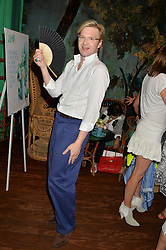 HENRY CONWAY at a tea party to launch Grace Guru held at Sketch, 9 Conduit Street, London on 17th June 2015.
