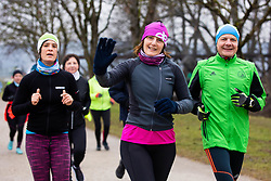Priprave Ljubljanski Maraton, 25 January 2020, Koseski bajer, Ljubljana, Slovenia. Photo By Grega Valancic / Sportida