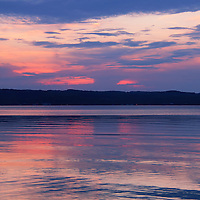 """""""Last Light of Day""""<br /> <br /> Last colors and light of sunset over water!!<br /> <br /> Sunset Images by Rachel Cohen"""