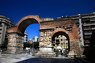 The Arch of Galerius (Kamara) in<br /><br />Photo by Dennis Brack