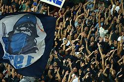 September 26, 2017 - Naples, Italy - Napoli supporters during the UEFA Champion's League Group F football match Napoli vs Feyenoord Rotterdam on September 26, 2017 at the San Paolo stadium in Naples, Italy. (Credit Image: © Matteo Ciambelli/NurPhoto via ZUMA Press)
