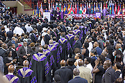 The processional for slain State Senator Clementa Pinckney during the funeral at the TD Arena June 24, 2015 in Charleston, South Carolina. Pinckney is one of the nine people killed in last weeks Charleston church massacre.