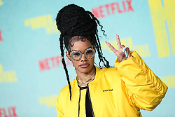 Singer-songwriter Teyana Taylor arrives at the Los Angeles Premiere Of Netflix's 'The Harder They Fall' held at the Shrine Auditorium and Expo Hall on October 13, 2021 in Los Angeles, California, United States. Photo by Xavier Collin/Image Press Agency/ABACAPRESS.COM