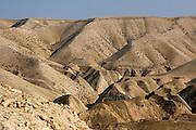 Israel, West Bank, Judaea Desert, The dunes of Judea desert.