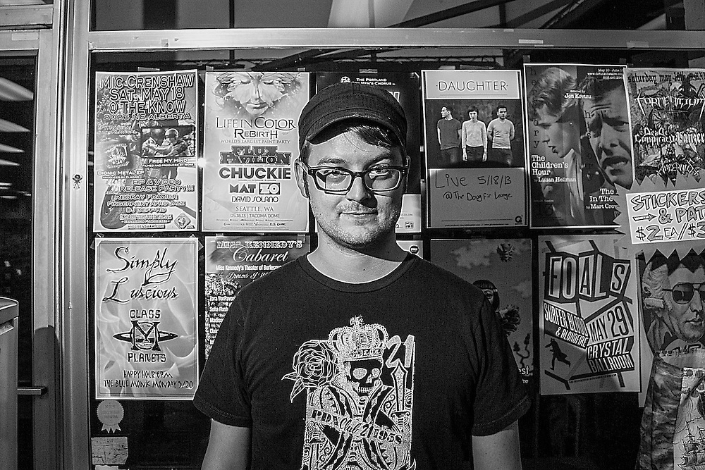 Ryan S. is very helpful at Everyday Music on Sandy Blvd, Portland, OR