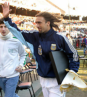 09/07/03 - THE CELEBRATION OF THE 25th ANNIVERSARY OF THE WORLD CUP FIFA 1978 , WHERE AGENTINA  WON  - ARGENTINA.<br />The celebration was a friendly match  that assemble different players generations of the argentinean national selection team. <br />Gabriel Batistuta.<br />©A.K/Argenpress.com