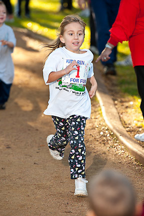 City of Friendswood Holiday Hustle %k to benefit the Laura Smithers Recovery Center December 4, 2010 in Friendswood, Texas.
