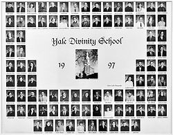 1997 Yale Divinity School Senior Portrait Class Group Photograph