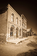 Dechambeau Hotel and I.O.O.F. Building, Bodie State Historic Park, California USA