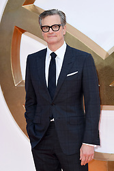 Colin Firth attending the Kingsman: The Golden Circle World Premiere held at Odeon and Cineworld Cinemas, Leicester Square, London. Picture date: Monday 18th September 2017. Photo credit should read: Doug Peters/Empics Entertainment
