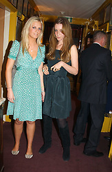 Left to right, CHARLEY COLLING and KATE GOLDSMITH at a private dinner and presentation of Issa's Autumn-Winter 2005-2006 collection held at Annabel's, 44 Berkeley Square, London on 15th March 2005.<br /><br />NON EXCLUSIVE - WORLD RIGHTS