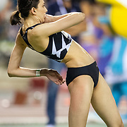 BRUSSELS, BELGIUM:  September 3:  Mariya Lasitskene of Russia in action in the high jump for women competition during the Wanda Diamond League 2021 Memorial Van Damme Athletics competition at King Baudouin Stadium on September 3, 2021 in  Brussels, Belgium. (Photo by Tim Clayton/Corbis via Getty Images)