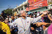 Suthep Leads Donation Parade