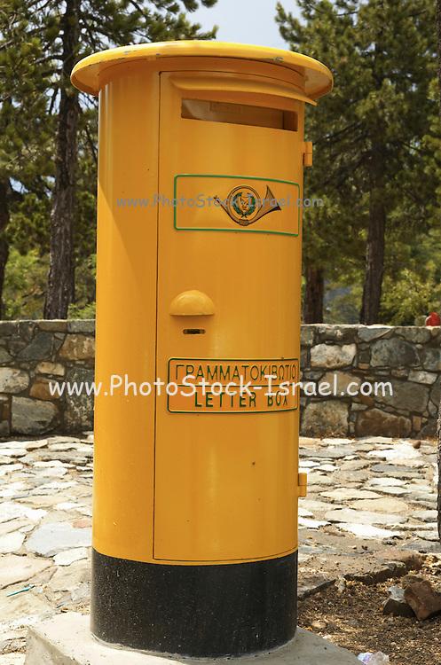 Cyprus, A yellow mail box