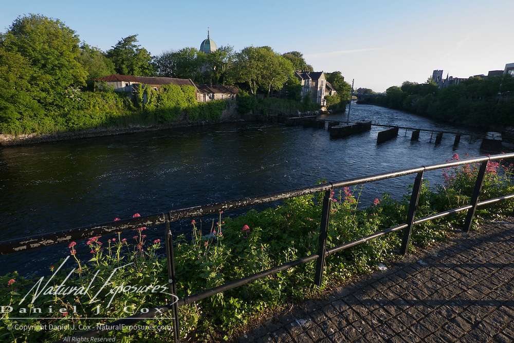 The Corrib River in Galway, Ireland.