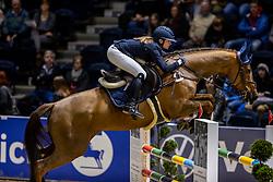 REIPERT Malin (GER), Manolito<br /> Finale HGW-Bundesnachwuchschampionat der Springreiter <br /> gefördert durch die Horst-Gebers-Stiftung <br /> In Memoriam Debby Winkler<br /> Stilspringen Kl. M*<br /> Nat. style jumping competition Kl. M*<br /> Braunschweig - Classico 2020<br /> 08. März 2020<br /> © www.sportfotos-lafrentz.de/Stefan Lafrentz