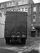 30/10/1959<br /> 10/30/1959<br /> 30 October 1959<br /> W. D.& H. O. Wills South Circular Road, Dublin.<br /> Morris Commercial delivery van at Wills.