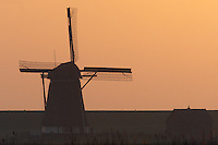 Windmill, Texel, the Netherlands