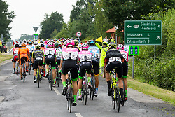 The cyclists in Hungary during 1st Stage of 25th Tour de Slovenie 2018 cycling race between Lendava and Murska Sobota (159 km), on June 13, 2018 in  Slovenia. Photo by Vid Ponikvar / Sportida