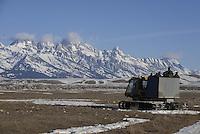 Annual elk count on the National Elk Refuge