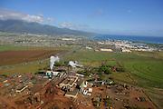 Puunene Sugar Mill, Maui, Hawaii, USA