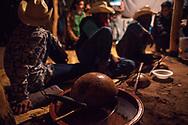 Tamburo d'acqua, strumento tipico Yaqui