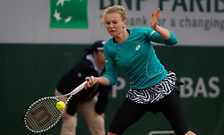 May 30, 2019 - Paris, FRANCE - Katerina Siniakova of the Czech Republic in action during her second-round match at the 2019 Roland Garros Grand Slam tennis tournament (Credit Image: © AFP7 via ZUMA Wire)