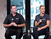 AOL Build Presents Gold-metalist Swimmer Jessica Hardy And Her Coach Keenan Robinson