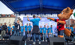 Alberto Giuliani - Head coach of Slovenian volleyball national team during the Day for the medals: Reception of Slovenian sport heroes on 30.9.2019 on Kongresni square, Ljubljana, Slovenia. Photo by Urban Meglič / Sportida