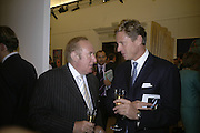 ANDREW NEIL AND ROB HERSOV, Spear's Wealth Management High-Net-Worth Awards. Sotheby's. 10 July 2007.  -DO NOT ARCHIVE-© Copyright Photograph by Dafydd Jones. 248 Clapham Rd. London SW9 0PZ. Tel 0207 820 0771. www.dafjones.com.