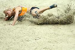 07.03.2014, Ergo Arena, Sopot, POL, IAAF, Leichtathletik Indoor WM, Sopot 2014, Tag 1, im Bild nadine broersen skok w dal kobiet piecioboj long jump women pentathlon // nadine broersen skok w dal kobiet piecioboj long jump women pentathlon during day one of IAAF World Indoor Championships Sopot 2014 at the Ergo Arena in Sopot, Poland on 2014/03/07. EXPA Pictures © 2014, PhotoCredit: EXPA/ Newspix/ Wojciech Figurski<br /> <br /> *****ATTENTION - for AUT, SLO, CRO, SRB, BIH, MAZ, TUR, SUI, SWE only*****