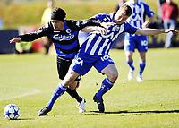 Fotball , 3. februar 2011 , Copa del Sol<br /> FC København - IFK Göteborg<br /> <br /> Christian Bolanos , FC København<br /> Jakob Johansson , IFK