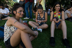 June 17, 2017 - Turin, Piedmont, Italy - Turin, Italy-June 17, 2017: Gay Pride 2017 Manifestation in Turin, Italy (Credit Image: © Stefano Guidi via ZUMA Wire)