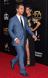 Matthew McConaughey, Camila Alves, The 20th Annual Hollywood Film Awards at the Beverly Hilton Hotel (Beverly Hills, CA.)