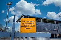 AMSTELVEEN - Illustratie (lucht) - Ook het Wagener Stadion en de hockeyvelden van Amsterdam zijn verboden terrein  ivm Coronavirus. . COPYRIGHT KOEN SUYK