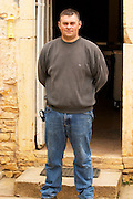 Fabien Coche Bizouard, owner and winemaker at Domaine Alain Coche Bizouard in Meursault