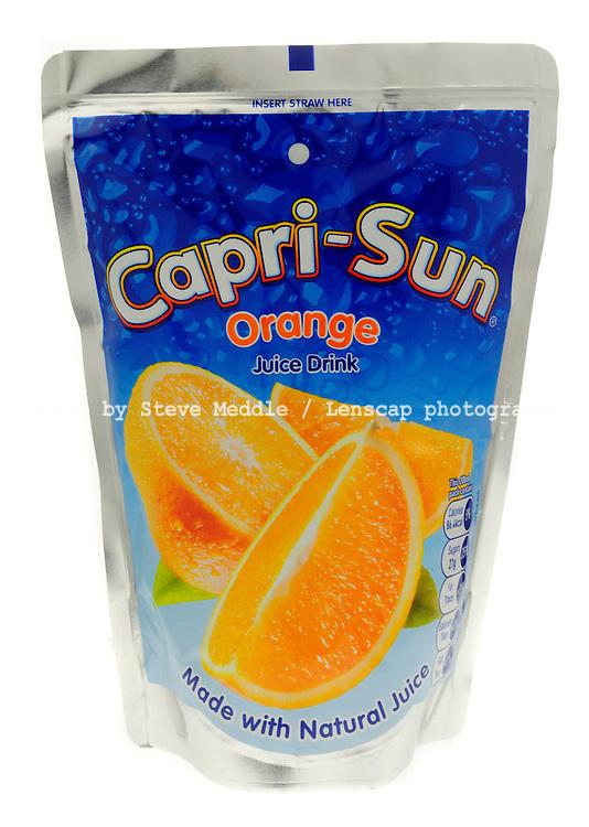 Capri Sun Orange Juice Drink