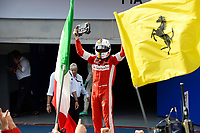 VETTEL sebastian (ger) ferrari sf15t ambiance portrait vainqueur winner during 2015 Formula 1 FIA world championship, Malaysia Grand Prix, at Sepang from March 27th to 30th. Photo Eric Vargiolu / DPPI