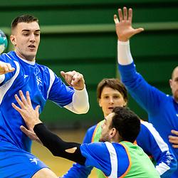 20210104: SLO, Handball - Practice session of Slovenian National Men Team