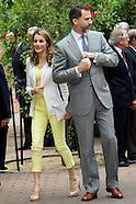 061813 prince felipe and princess letizia residencia estudiantes