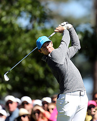 April 9, 2016 - Augusta, GA, USA - Rory McIlroy plays hits from the 4th tee during the third round of the 80th Masters at the Augusta National Golf Club in Augusta, Ga., on Saturday, April 9, 2016. (Credit Image: © Curtis Compton/TNS via ZUMA Wire)
