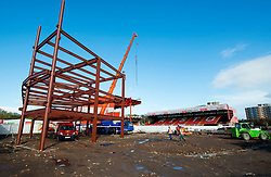 - Photo mandatory by-line: Dougie Allward/JMP - Mobile: 07966 386802 - 03/11/2014 - SPORT - Football - Bristol - Ashton Gate - Bristol City v  - Ashton Gate Development