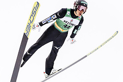 February 8, 2019 - Lahti, Finland - WATABE Akito competes at Nordic Combined, PCR/Qualification round at Lahti Ski Games in Lahti, Finland on 8 February 2019. (Credit Image: © Antti Yrjonen/NurPhoto via ZUMA Press)