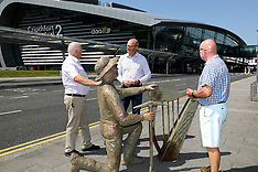 Sculpture at Dublin Airport 20.07.2021