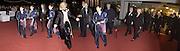 Labour Arts minister Tessa Jowell,  Mariella Frostrop and Sir Richard Attenborough. National Film Theatre 50th Anniversary Gala evening. 20 October 2002. . © Copyright Photograph by Dafydd Jones 66 Stockwell Park Rd. London SW9 0DA Tel 020 7733 0108 www.dafjones.com