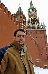 07-02-2005;VOLLEYBAL;REPORTAGE GUIDO GORTZEN;MOSKOU<br /> <br /> Guido Gortzen<br /> <br /> ©2005-www.fotohoogendoorn.nl