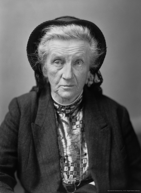 Lady Francis Balfour, English Author and Suffragette, 1928
