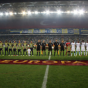 Fenerbahce's and Marseille's during their UEFA Europa League Group Stage Group C soccer match Fenerbahce between Marseille at Sukru Saracaoglu stadium in Istanbul Turkey on Thursday 20 September 2012. Photo by TURKPIX