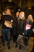 JEREMY HEALY; PATSY KENSIT, Patsy Kensit turns on Burlington Arcade Christmas Lights, Burlington Arcade, London, W1. 26 November 2008 *** Local Caption *** -DO NOT ARCHIVE -Copyright Photograph by Dafydd Jones. 248 Clapham Rd. London SW9 0PZ. Tel 0207 820 0771. www.dafjones.com